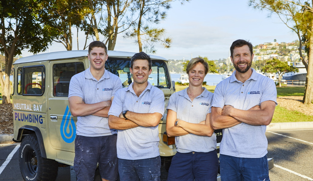 Neutral Bay Plumbing Team Photo